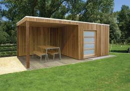 Projekty,  Garaż zaprojektowane przez Garden Affairs Ltd