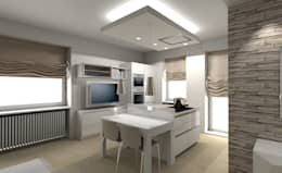 modern Living room by Cristiano Rossi Interior Designer