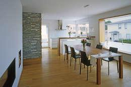 غرفة السفرة تنفيذ Hunkeler Partner Architekten AG