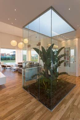 minimalistic Living room by VISMARACORSI ARQUITECTOS