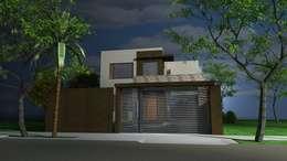 Casa WIRZ - Colonia Benítez - Chaco: Casas de estilo moderno por Arq.Rubén Orlando Sosa