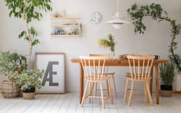 scandinavian Dining room by greeniche