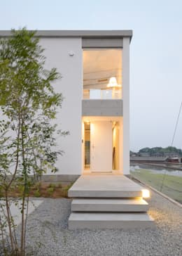industrial Houses by 風景のある家.LLC