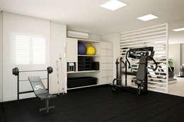 modern Gym by Tárcyla & Savane Arquitetas Associadas