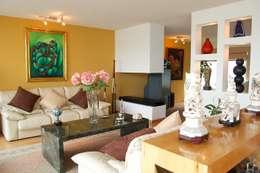 غرفة المعيشة تنفيذ Diseño Alternativo Hera