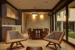 ห้องนั่งเล่น by RIMA Arquitectura