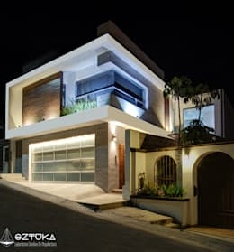 SZTUKA  Laboratorio Creativo de Arquitectura: modern tarz Evler
