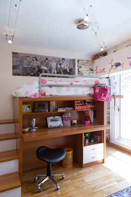 modern Nursery/kid's room by Objetos DAC