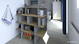 moderne Keuken door MJ Intérieurs