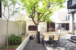 Jardines de estilo minimalista por 로하디자인