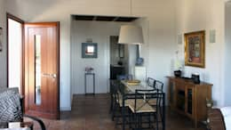 mediterranean Dining room by RIBA MASSANELL S.L.
