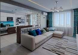 moderne Woonkamer door hq-design