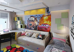 modern Nursery/kid's room by hq-design