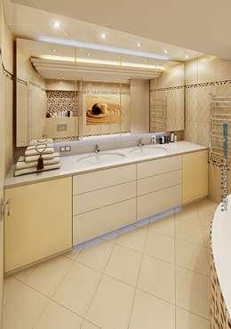 Projekty,  Łazienka zaprojektowane przez hq-design