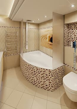 moderne Badkamer door hq-design