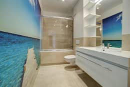 mediterranean Bathroom by Perfect Space