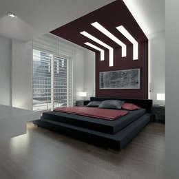 ARCHMY Mimarlık – Karataş Asansör A-Ö Evi: modern tarz Yatak Odası