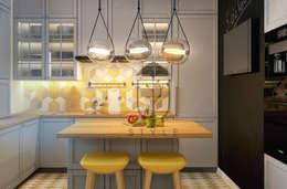 Cocinas de estilo minimalista por U-Style design studio