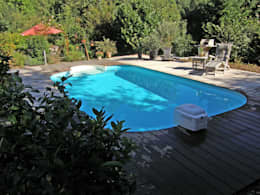 Jardines de estilo mediterraneo por Hesselbach GmbH