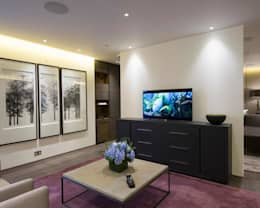 modern Living room by Crestron