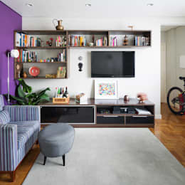 moderne Woonkamer door Alvorada Arquitetos