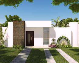 Casas de estilo moderno por INVERSIONES NACSE S.A.S.