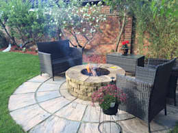 rustic Garden by Lithic Fire