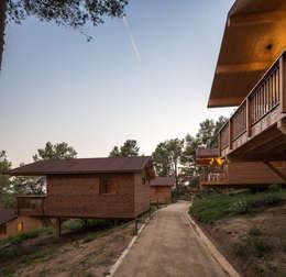 Casas de estilo moderno por Simon Garcia | arqfoto