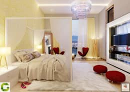 24000 sqft (2230 sqm) double Villa in Dubai: modern Bedroom by Aum Architects