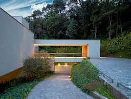modern Houses by Lanza Arquitetos