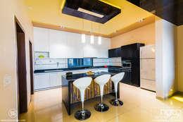 Modular Kitchen:   by HGCG Architects
