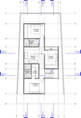 CASA CARDIF 38:  de estilo  por CCA|arquitectos