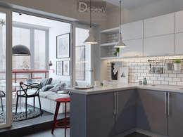 Эстетика чистоты (дизайн-проект): Кухни в . Автор – Design Service