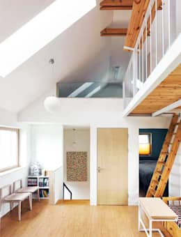 부산 수안동 주택: 비온후풍경 ㅣ J2H Architects의  거실