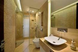 minimalistic Bathroom by Aum Architects