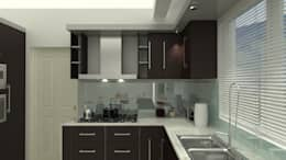 Cocinas de estilo moderno por UNESPACIO360
