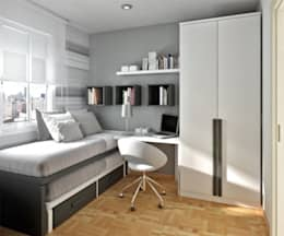 minimalistic Bedroom by GSI Interior Design & Manufacture