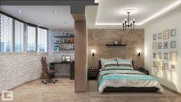 غرفة نوم تنفيذ Giovani Design Studio