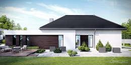 Projekt domu HomeKONCEPT-32: styl nowoczesne, w kategorii Domy zaprojektowany przez HomeKONCEPT | Projekty Domów Nowoczesnych