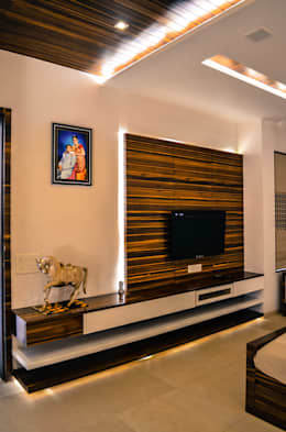 Baños de estilo moderno por Maulik Vyas Architects