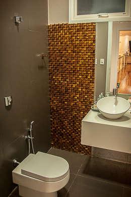Salle de bains de style  par A/ZERO Arquitetura