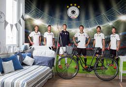 Fototapete DFB - Unsere Nationalmannschaft 01:  Wände & Boden von K&L Wall Art