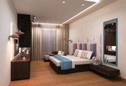 Residential - Agarwal: modern Bedroom by Nestopia