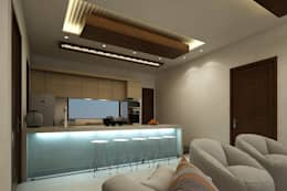 lobby: modern Kitchen by A Mans Creation