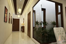 hospital:  Corridor & hallway by A Mans Creation