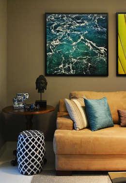 modern Living room by CARDOSO CHOUZA ARQUITETOS