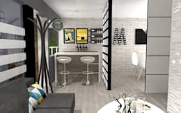 Comedores de estilo ecléctico por AurEa 34 -Arquitectura tu Espacio-