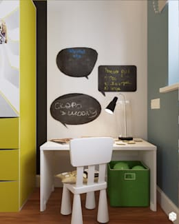 modern Nursery/kid's room by 2GO Design Studio