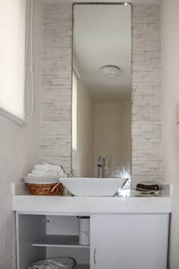 Banheiros modernos por Spazio3Design