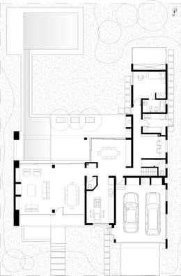PLANTA BAJA:  de estilo  por Poggi Schmit Arquitectura